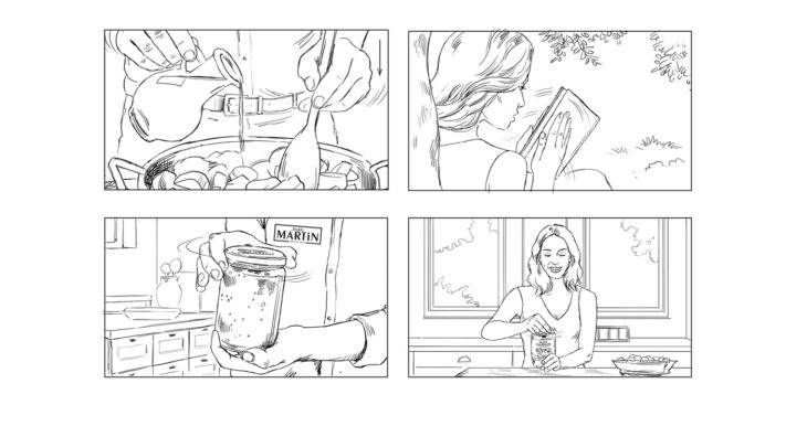Marc INGRAND - roughs & story -